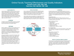Online Faculty Teaching Effectiveness and Quality Indicators