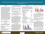 Health Perception and Behavior Changes in Survivors of the Acute Respiratory Distress Syndrome