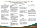 Student Engagement and Academic Performance of Iraqi Refugee Community College Students in America by Lucinda Scheidt Hollands