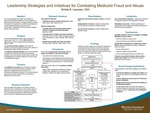 Leadership Strategies and Initiatives for Combating Medicaid Fraud and Abuse