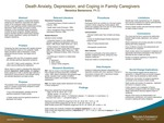 Death Anxiety, Depression, and Coping in Family Caregivers