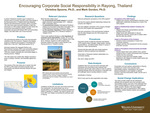 Encouraging Corporate Social Responsibility in Rayong, Thailand by Christina Spoons and Mark Gordon