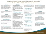 The National Online Faculty Survey: Who Is Doing Research? by Lee Stadtlander, Martha Giles, and Amy Sickel
