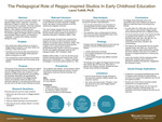 The Pedagogical Role of Reggio-inspired Studios In Early Childhood Education