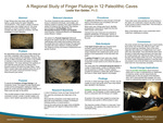 A Regional Study of Finger Flutings in 12 Paleolithic Caves