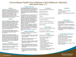 Church-Based Health Care Initiatives in East Baltimore, Maryland by Valerie Warner-Collins