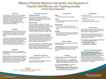 Effects of Positive Behavior Intervention and Supports on Teacher Self-Efficacy and Teaching Anxiety by Jill Van Parys Couet