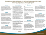 Evaluation of National Institute of Learning Development (NILD) and Discovery Educational Therapy Program