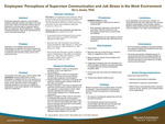 Employees' Perceptions of Supervisor Communication and Job Stress in the Work Environment by Ee'a Jones