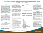 The Fatigue Experience of African American Women with Breast Cancer by Phyllis D. Morgan Dr.