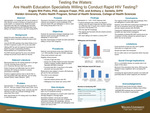 Testing the Waters: Are Health Education Specialists Willing to Conduct Rapid HIV Testing?