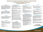 Implementing Student Information Systems in High Schools: An Embedded Single Case Study by Tamyra Rhodes-O'Neill
