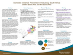 Domestic Violence Prevention in Gauteng, South Africa by Christina Spoons and Mark Gordon
