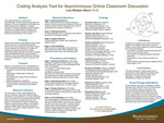 Coding Analysis Tool for Asynchronous Online Classroom Discussion by Lisa Weltzer-Ward