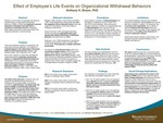 Effect of Employee's Life Events on Organizational Withdrawal Behaviors by Anthony H. Brown