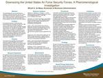 Downsizing the United States Air Force Security Forces: A Phenomenological Investigation by Winell de Mesa