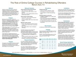 The Role of Online College Courses in Rehabilitating Offenders