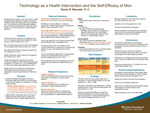 Technology as a Health Intervention and the Self-Efficacy of Men by Karen Denise Maxwell