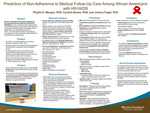 Predictors of Non-Adherence to Medical Follow-Up Care Among African Americans with HIV/AIDS by Phyllis D. Morgan, Cynthia B. Banks, and Joshua Fogel