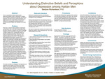 Understanding Distinctive Beliefs and Perceptions about Depression among Haitian Men by Darlyne Richardson