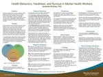 Health Behaviors, Hardiness, and Burnout in Mental Health Workers by Jeremiah Brian Schimp