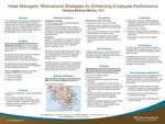 Hotel Managers' Motivational Strategies for Enhancing Employee Performance