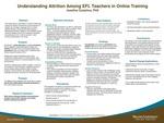 Understanding Attrition Among EFL Teachers in Online Training by Joseline Castaños