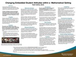 Changing Embedded Student Attitudes within a Mathematical Setting by Ruth Collins