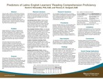 Predictors of Latino English Learners' Reading Comprehension Proficiency by David A. Hernandez and Theresa A. Grasparil
