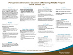 Perioperative Orientation, Education & Mentoring (POEM) Program by Esther M. Johnstone