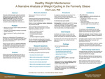 Healthy Weight Maintenance: A Narrative Analysis of Weight Cycling in the Formerly Obese by Cheri Renee Lewis