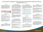 An Empirical Investigation of Wyoming Fourth Grade Math Assessment Scores by Keren Meister-Emerich