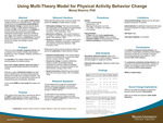 Using Multi-Theory Model for Physical Activity Behavior Change