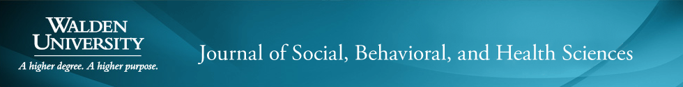Journal of Social, Behavioral, and Health Sciences
