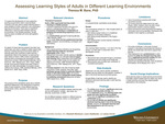 Assessing Learning Styles of Adults in Different Learning Environments by Theresa M. Bane