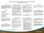 Sleep Among Young Adults Living in Rural Poverty
