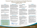 Perceived Threats to Food Security and Possible Responses Following an Agro-Terrorist Attack