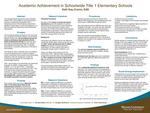 Academic Achievement in Schoolwide Title 1 Elementary Schools