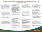 Crafting a System of Profound Knowledge Management in Long Term Care