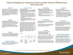 Internal Strategies for Assessing Communication Channel Effectiveness by Melvin E. Murphy