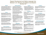 Rapport Development and Native Language Use Between U.S. Advisors and Afghan Counterparts by Sean Ryan Ryan