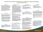 Content Area Teacher Perspectives on Integrating Literacy Strategies