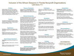 Inclusion of the African Diaspora in Florida Nonprofit Organizations by Lydia Asana