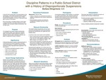Discipline Patterns in a Public-School District with a History of Disproportionate Suspensions