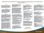 Predictors of Incarceration for African American Males Aging out of Foster Care