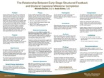 The Relationship Between Early-Stage Structured Feedback and Doctoral Capstone Milestone Completion by Michelle Brown and Beate Baltes