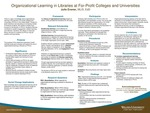 Organizational Learning in Libraries at For-Profit Colleges and Universities