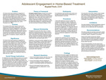 Adolescent Engagement in Home-Based Treatment: An Action Research Study by Krystal Finch