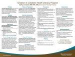 Creation of a Diabetic Health Literacy Program by Cathy Jo Jones