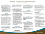 Strategies to Implement Innovation in Hospitals by Schola Mutumene Kabeya